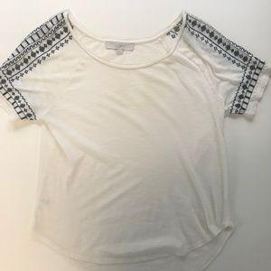 Embroidered LOFT Tshirt
